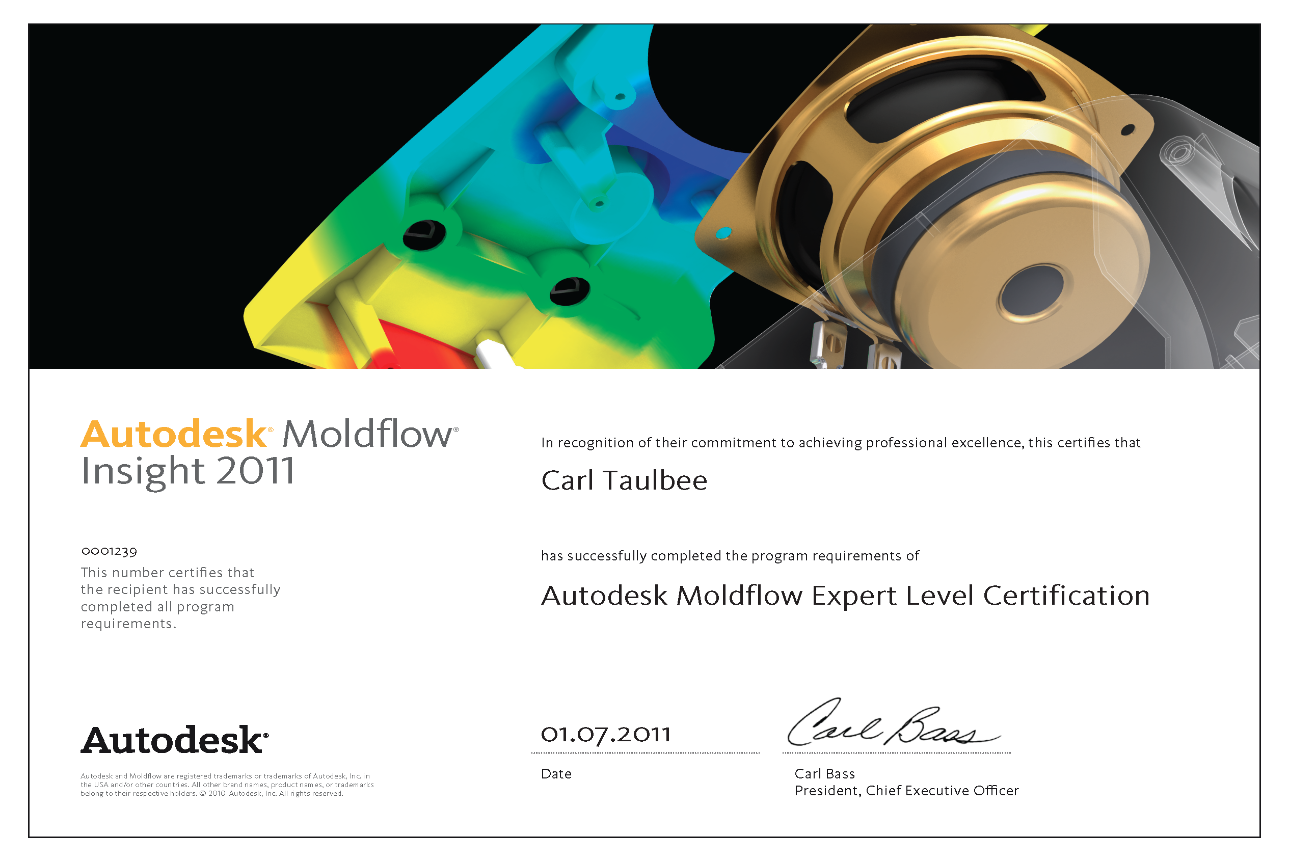Carl-Taulbee-Expert-Certificate